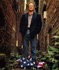 Bill Ayers stomping on US flag