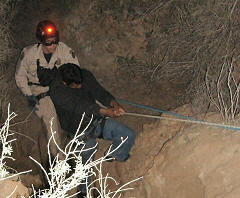 Border Patrol Cliff Rescue