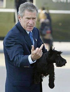 http://www.outragedpatriots.com/George%20W%20Bush%20shoots%20middle%20finger.jpg