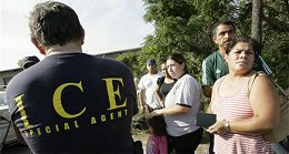 ICE agent and illegals