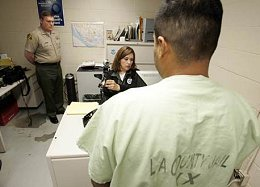 illegal immigrants in L.A. County Jail