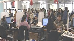 Mexican Consulate Office Swamped