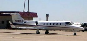 Mayor Kathy Taylor's jet
