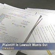 Plaintiff in Lawsuit Wants Out