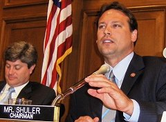 Representative Heath Schuler of North Carolina