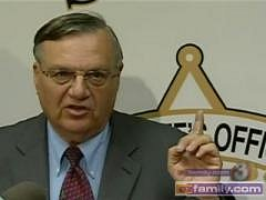 Sheriff Joe Arpaio of Maircopa County